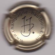 Capsule Champagne HAUTBOIS Jean-Pol ( 9 ; Or Pâle Et Noir ) {S04-19} - Champagne