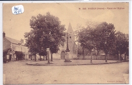 VIGOUX- PLACE DE L EGLISE - Francia