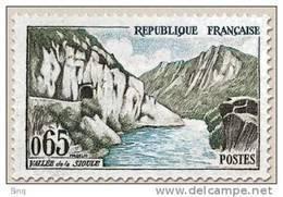 N° 1239 Vallée De La Sioule  Faciale 0,65 F - France