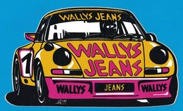AUTOCOLLANT WALLYS JEANS - Autocollants