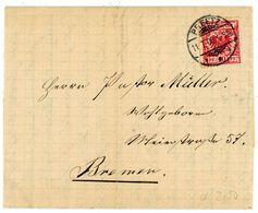 """""""PREETZ"""" Gitter K 2 EF Nr. 47 Nach Bremen 1900 - Deutschland"""