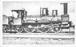 Thème Train Machine 375 Locomotives Du Sud-Ouest (ex P.O) CP Ed. H.M.P. N° 410 Locomotive Vapeur - Trains