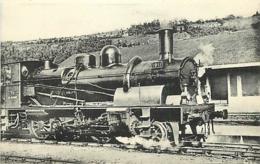 Thème Train Machine 1911  Locomotives Du Sud-Ouest (ex P.O) CP Ed. H.M.P. N° 424 Locomotive Vapeur - Trains