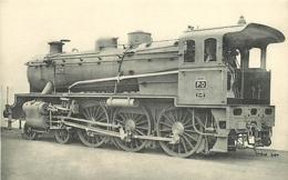 Thème Train Machine 4299 Locomotives Du Sud-Ouest (ex P.O) CP Ed. H.M.P. N° 433 Locomotive Vapeur - Trains