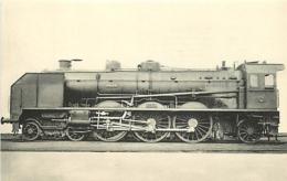 Thème Train Machine 3665 Locomotives De L'Orléans CP Ed. H.M.P. N° 441 Locomotive Vapeur - Trains