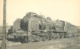 Thème Train Machine 231 A 578 Tours Locomotives Du Sud-Ouest (ex P.O) CP Ed. H.M.P. N° 461 Locomotive Vapeur - Trains