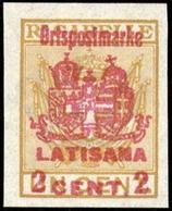 1918, Österreich Feldpost Italien örtliche Zustellmarken, II LA - Österreich