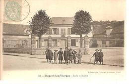 60 - Nogent-les-Vierges (oise) - Ecole Et Mairie - Nogent Sur Oise