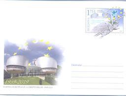 2019. Moldova, 50y Of European Court Of Human Rights, Prep. Envelope, Mint/** - Moldavie