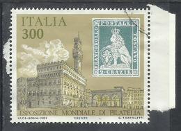 ITALIA REPUBBLICA ITALY REPUBLIC 1985 ESPOSIZIONE MONDIALE FILATELIA  ANTICHI STATI TOSCANA USATO USED OBLITERE' - 1981-90: Usati