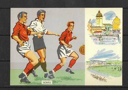 Sweden,postcard, Soccer,football, World Cup- 1958 Boras 15.6.58 - Fußball-Weltmeisterschaft