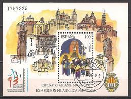 Spanien (1993)  Mi.Nr.  Block 53  Gest. / Used  (7bl-01.5) - 1931-Heute: 2. Rep. - ... Juan Carlos I