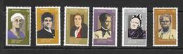 AUSTRALIE 1975 FEMMES CELEBRES  YVERT N°570/75  NEUF MNH** - 1966-79 Elizabeth II