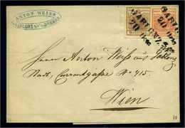 OESTERREICH 1850 Nr 3Y+4Y Gestempelt (108628) - 1850-1918 Empire