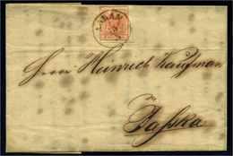 OESTERREICH 1850 Nr 3Y Gestempelt (108630) - 1850-1918 Empire