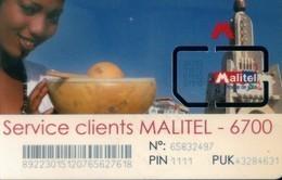 Mali GSM SIM Cards,  (1pcs,MINT) - Mali