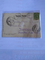 México Colegio De Guadalupe  Religious School 1904 Postcard Postally Used To Uruguay - Mexico