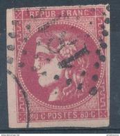 N°49  BORDEAUX ROSE VIF. - 1870 Uitgave Van Bordeaux