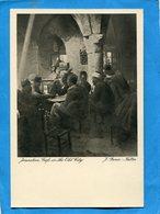 PALESTINE-JERUSALEM- Cafe In The Old City-animé-années 20-J Benor Halter édition  Adler - Palestine