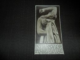 """Origineel Knipsel ( 1959 ) Uit Tijdschrift """" Ons Land """" 1933  :  Diksmuide Dixmude K. Aubroeck Temsche Temse - Old Paper"""