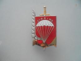 Insigne Du 3 RPIMa Avec Erreur 3 RRIMa - Armée De Terre