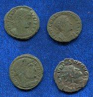 LOT 4 PIECES ROMAINES DIVERS A IDENTIFIER - Romaines