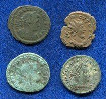 LOT 4 MONNAIES ROMAINES A IDENTIFIER - Romaines