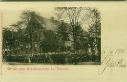 AK GERMANY - GRUSS VOM GESELLENVEREIN ZU DULMEN - BY SELBSTVERLAG DES KATHOL - 1901  (BG2155) - Duelmen