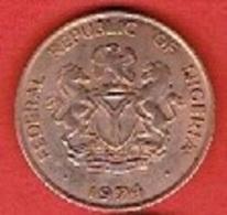 NIGERIA  # 1  KOBO FROM 1974 - Nigeria