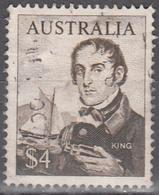 AUSTRALIA     SCOTT NO. 417    USED     YEAR  1966 - 1966-79 Elizabeth II