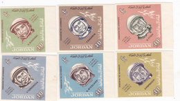 Jordan 1965 Cosmonautes Compl.set IMPERFORATED Marginal Compl.set MNH- Scare Set- Red. Pr.SKRILL PAY ONLY - Jordan