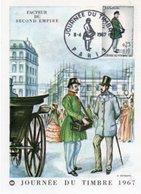 Journee Du Timbre  1967  Facteur Du Second Empire - Poste & Facteurs