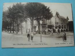 17 - Chatelaillon - Place De La Gare - Châtelaillon-Plage