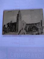 México Cuernavaca  Early Postcard La Catedral - Mexico