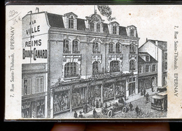 EPERNAY PUB RARE VILLE DE REIMS                            JLM - Epernay