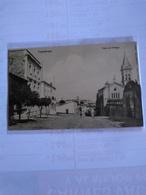 México Cuernavaca  Early Postcard  Calle De Hidalgo With Church - Mexico