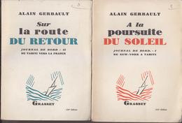 C1  MER Alain GERBAULT Journal De Bord COMPLET Poursuite Soleil Route Retour - Nautique & Maritime