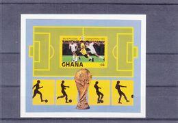 Football - Coupe Du Monde 1982 - Ghana - Yvert BF95 ** - NON Dentelé - - World Cup