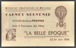 France Carnets  N° 1011 -CP2 15f M. De Muller Carnet De 10t. (Provins) Qualité: ** Cote: 810 € - Carnets