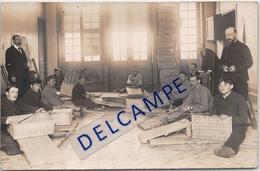 93-Neuilly Sur Marne -Hôpital Maison Blanche-Atelier De Pré Apprentissage Des Mutilés De Guerre La Vannerie- Carte Photo - Neuilly Sur Marne