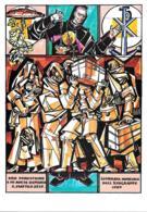 [MD2588] CPM - INTERO POSTALE - (1887-1987) CENTENARIO DELLA CONGRAGAZIONE DEI MISSIONARI DI SAN CARLO - NV - Altri