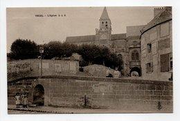 - CPA TRIEL (78) - L'Eglise (avec Personnages) - Edition C. L. C. - - Triel Sur Seine