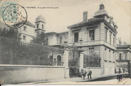 CPA .42. ROANNE. Le Lycée Des Garçons. MTIL édit. écrite.1905. - Roanne