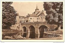23 La CELLE  DUNOISE -  L,Eglise Et Le Pont Sur La  Creuse - Frankrijk