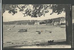 Finistère , Locquirec , Le Port Et Les Villas - Locquirec