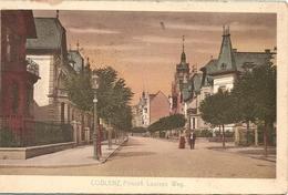 Allemagne- Rhémanie Palatinat :  Coblenz Prinzeb Louisen Weg  Réf 5604 - Koblenz