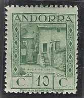 Andorre Espagnol Postes Espagnol Postes  N° 30 A 10c Vert Jaune Au Lieu De Vert-bleu Qualité: ** Cote: 120 € - Autres