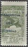 Andorre Espagnol Bienfaisance  N°  2f50 Vert Surcharge à Cheval Qualité: ** Cote:  € - Autres