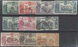 Espagne Postes  N° 226 à 235 Don Quichotte 10 Valeurs TB Qualité: Obl Cote: 450 € - Gebraucht
