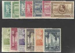 Espagne Postes  N° 367 à 379 Expositions De Barcelone Et De Séville 13 Valeurs Qualité: * Cote: 160 € - 1889-1931 Reino: Alfonso XIII